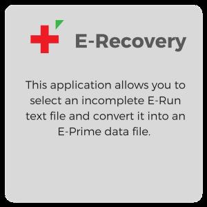 E Recovery