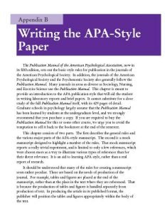 appendix in academic essays Where does the appendix go in an essay the appendix has been shown in recent years to help produce certainenzymes which can ward off some academic writing.