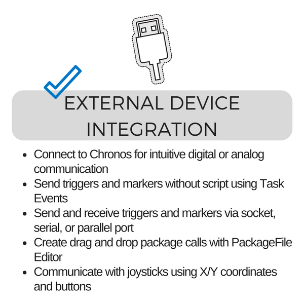 External Device Integration