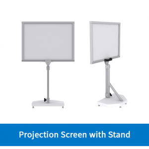 Projection Screen with Stand