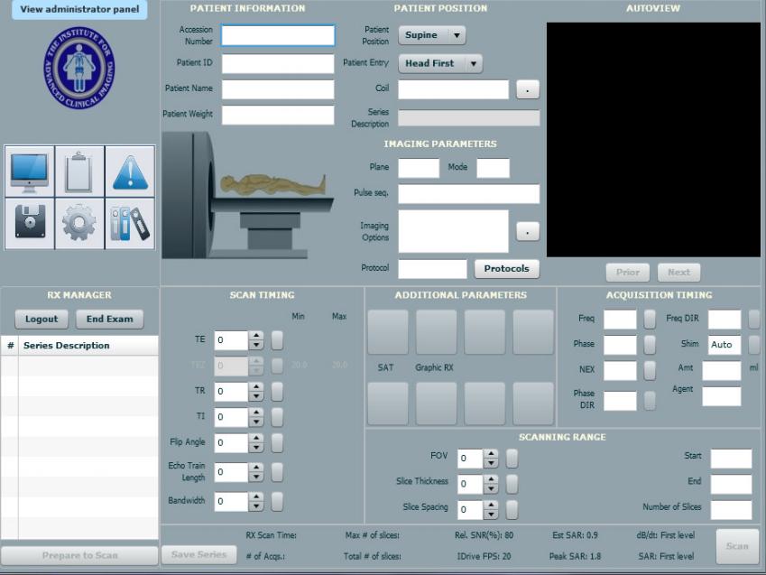 IACI MRI Simulation Software   Psychology Software Tools